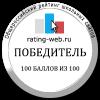 Результаты рейтинга школьных сайтов 2016