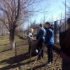Cубботники по санитарной очистке и благоустройству школьной территории