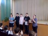 Школьная пресс-конференция с участниками олимпиад