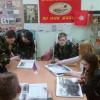 Взаимопосещение школ. Изучение жизни великих полководцев, презентация материала