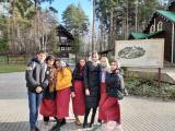 Экскурсия старшеклассников в Храм на крови